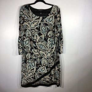 INC International Concepts Paisley dress